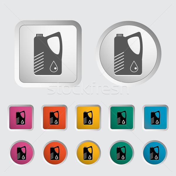 Jerrycan single icon. Stock photo © smoki