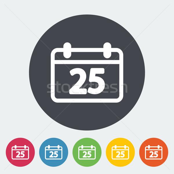 Calendar icon Stock photo © smoki