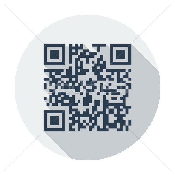 QR code Stock photo © smoki