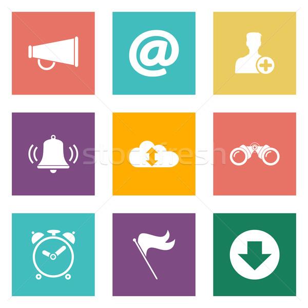 Icons for Web Design and Mobile Applications. Stock photo © smoki