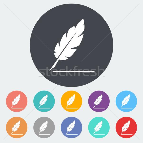 Feather Stock photo © smoki