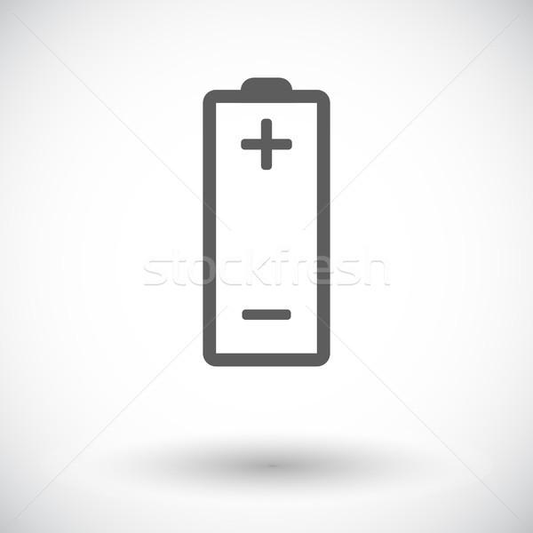 Battery icon. Stock photo © smoki