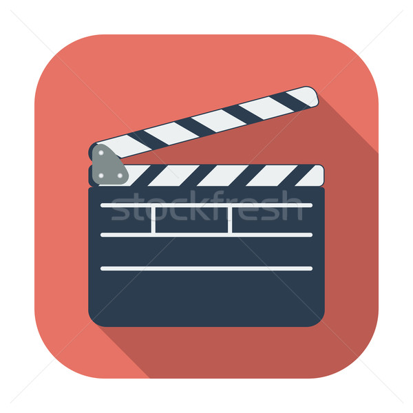 Director clapperboard icon. Stock photo © smoki