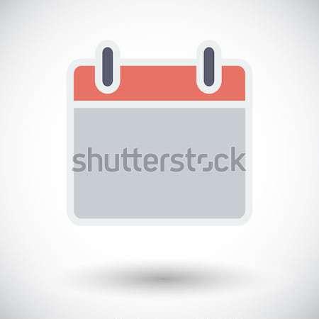 календаря икона вектора долго тень веб Сток-фото © smoki