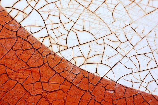 Szín repedt felület közelkép textúra terv Stock fotó © smuay