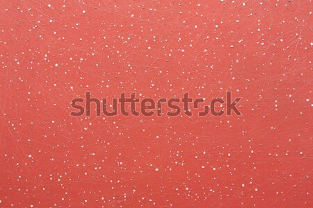 Scratched red painted texture Stock photo © smuay