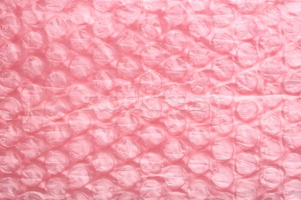 розовый воздуха пузыря лист ударных доказательство Сток-фото © smuay