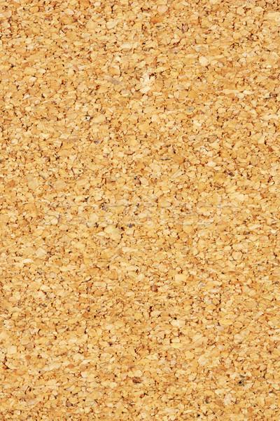 Kurk boord textuur bruin kleur muur Stockfoto © smuay