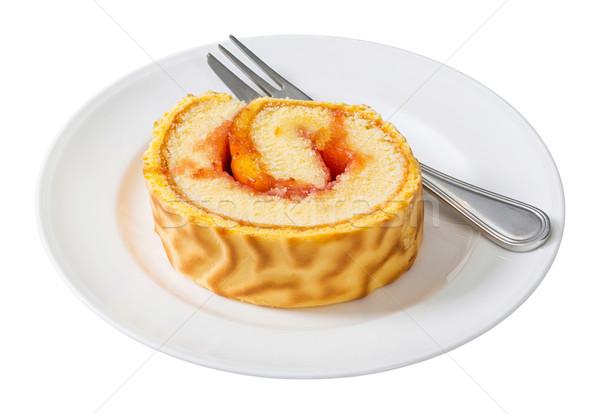 Roll cake Stock photo © smuay