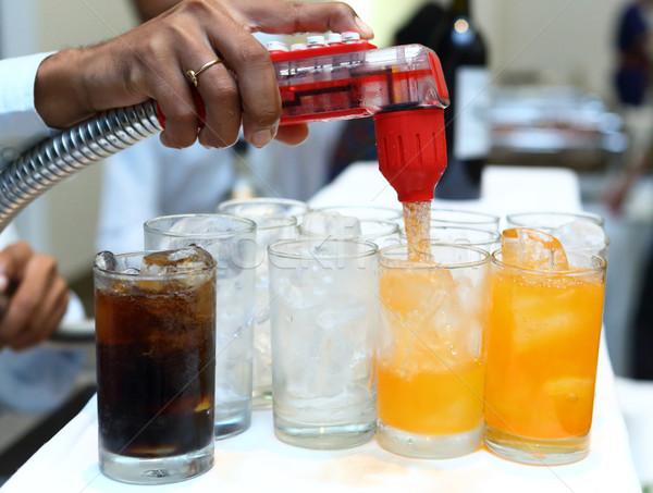 Softdrink dispensor Stock photo © smuay