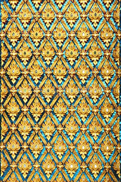 Thai temple art Stock photo © smuay