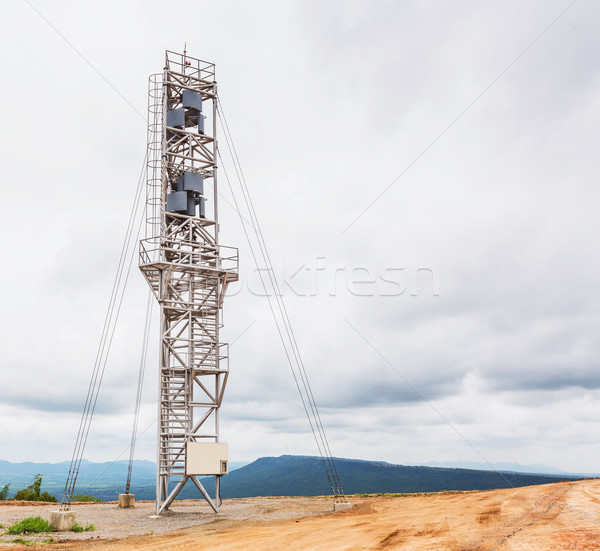 Vertical axis wind turbine Stock photo © smuay