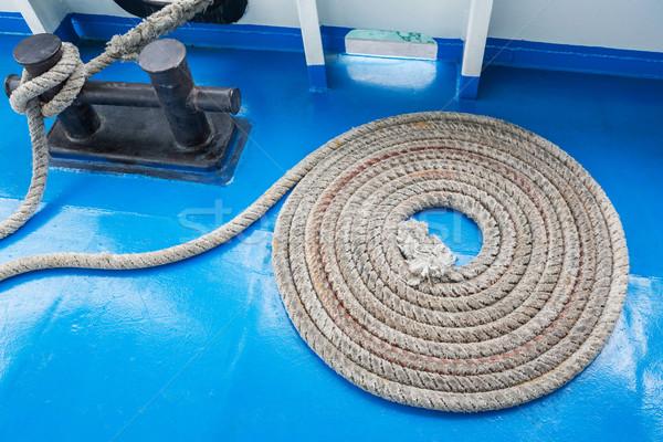 Mooring rope Stock photo © smuay