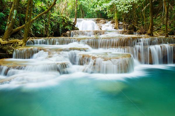 滝 公園 西部 タイ 水 ツリー ストックフォト © smuay