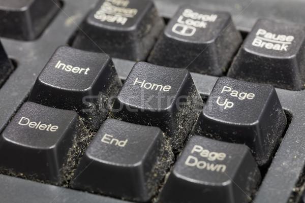 Dirty keyboard Stock photo © smuay