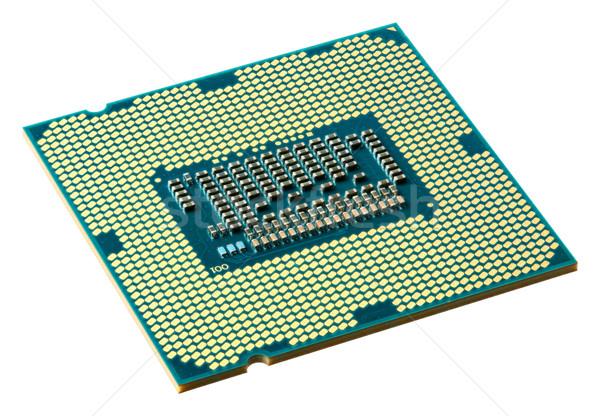CPU aislado blanco tecnología servidor web Foto stock © smuay