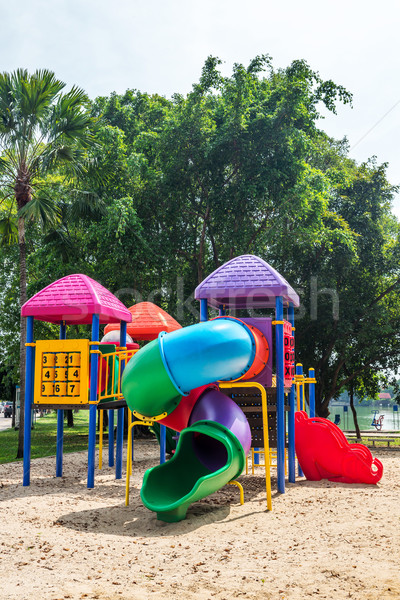 Playground Stock photo © smuay