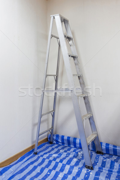 Stock photo: Aluminum Ladder