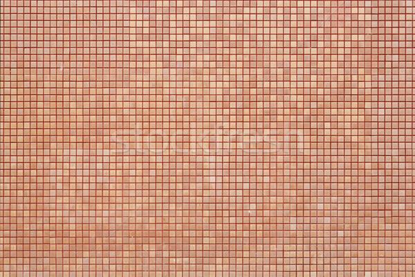 Foto d'archivio: Mosaico · muro · arancione · colore · pattern · strada