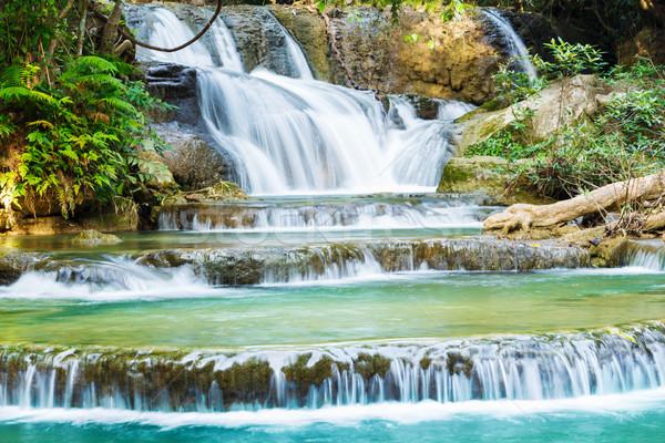 Cascata parco occidentale Thailandia acqua albero Foto d'archivio © smuay