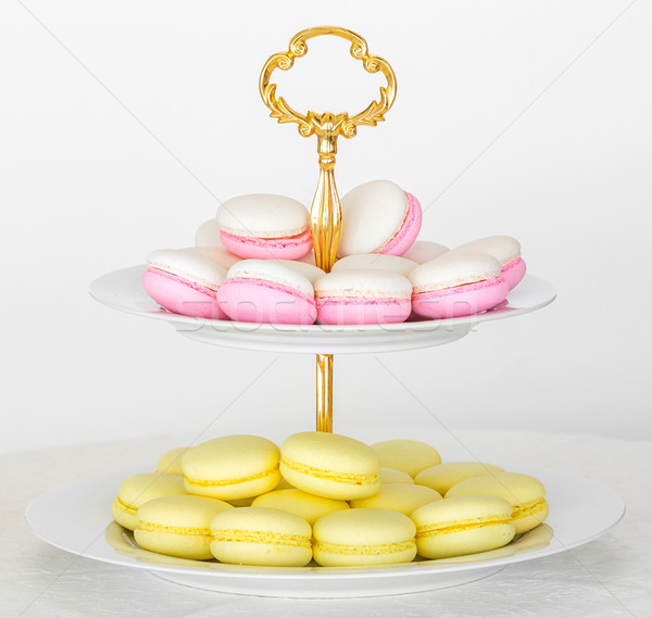French macarons Stock photo © smuay