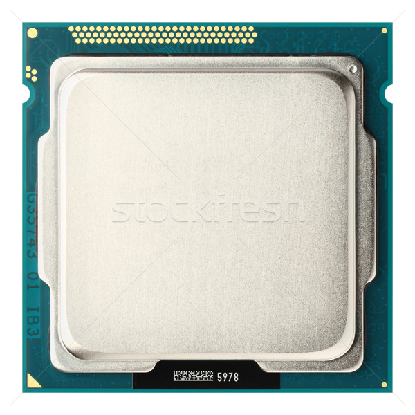 CPU upside Stock photo © smuay