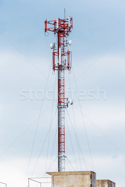 Antenna repeater Stock photo © smuay