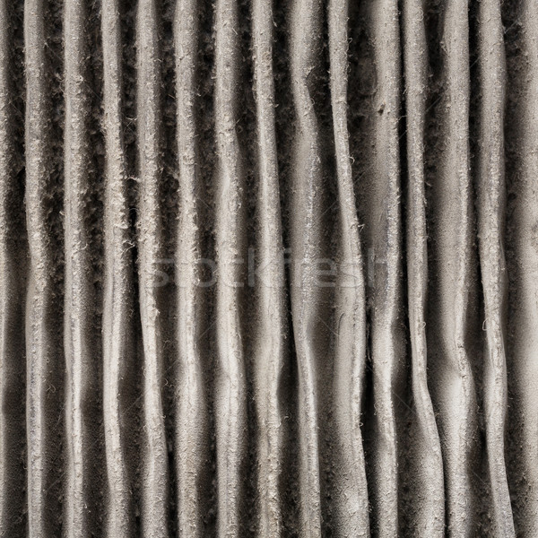 Close up outside of dirty air filter Stock photo © smuay