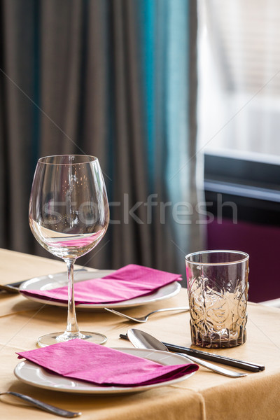Table set up Stock photo © smuay