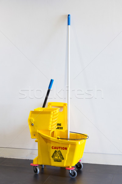 Mop bucket and wringer Stock photo © smuay