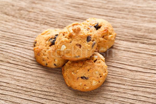 Homemade oatmeal cookies Stock photo © smuay