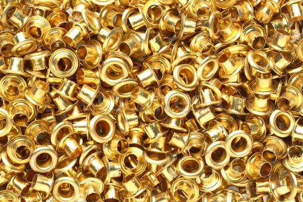Latón resumen dorado textura Foto stock © smuay