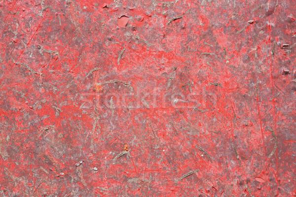 Гранж красный окрашенный текстуры цвета Сток-фото © smuay