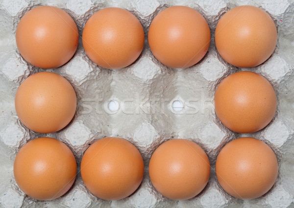 Chicken eggs Stock photo © smuay
