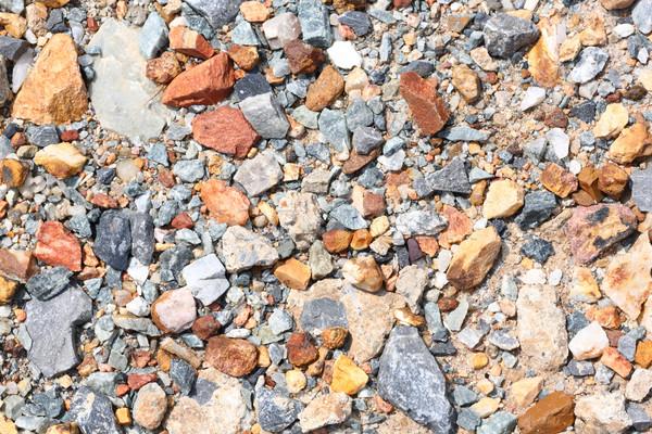 Crushed stone Stock photo © smuay
