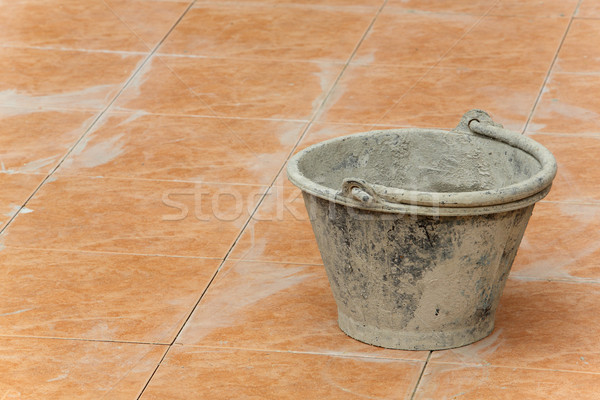 Plastic bucket Stock photo © smuay