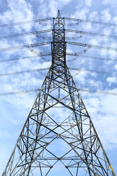 High voltage tower Stock photo © smuay