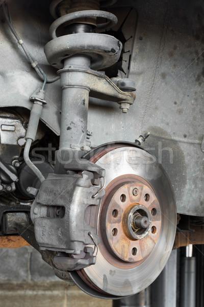 Foto d'archivio: Auto · disco · freno · garage · sicurezza