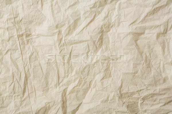 Papírzsebkendő papír szürke szín iroda terv Stock fotó © smuay