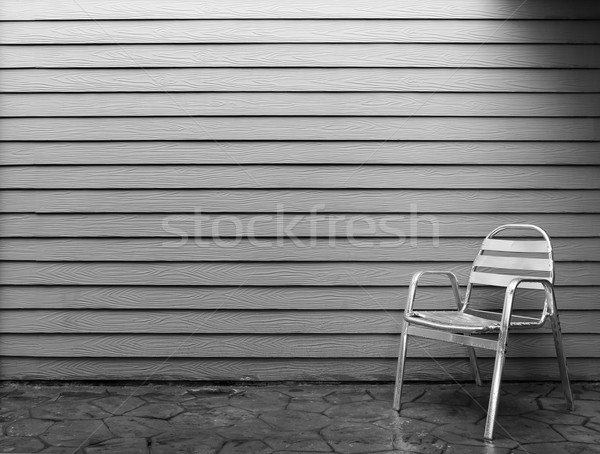 Lonely chair Stock photo © smuay