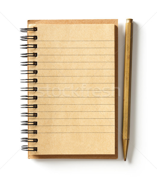 Note paper with pen Stock photo © smuay
