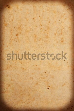 Old paper texture Stock photo © smuay