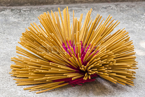 Thai incense preparation Stock photo © smuay