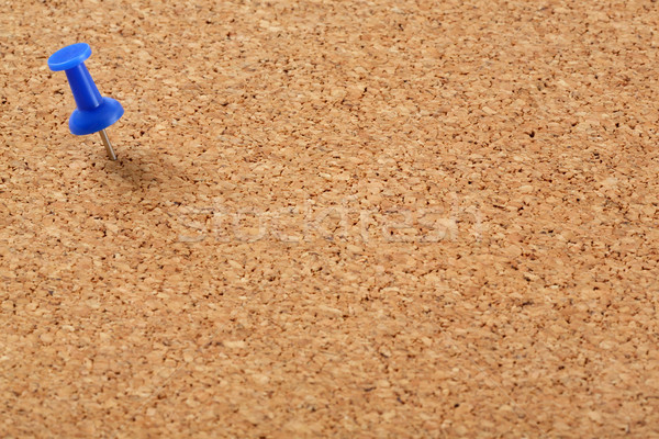 Parafa tábla kék tő fa keret hírek Stock fotó © smuay