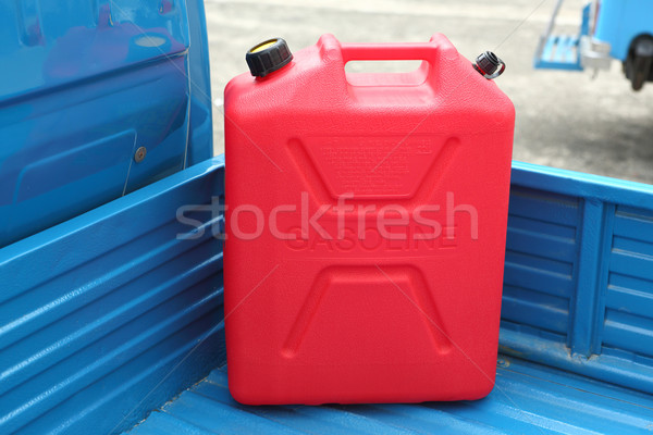 Gasoline refill tank Stock photo © smuay