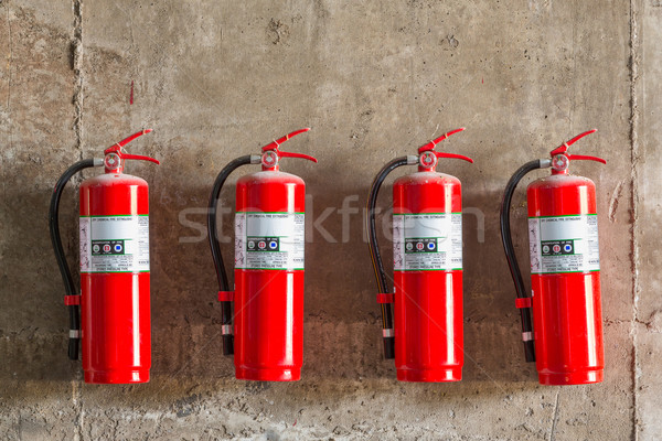 Fire extinguisher Stock photo © smuay