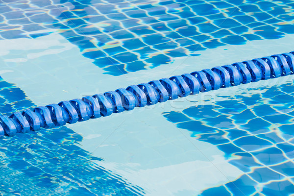 Swimming pool lane rope stock photo © Smith Chetanachan ...
