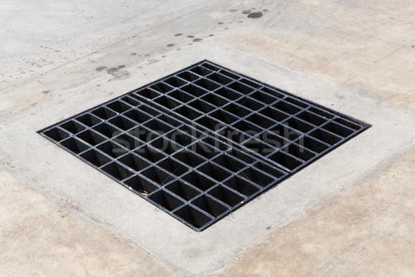 Heavy duty steel grating  Stock photo © smuay