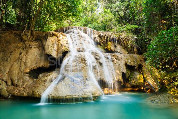 Huay Mae Kamin waterfall Stock photo © smuay