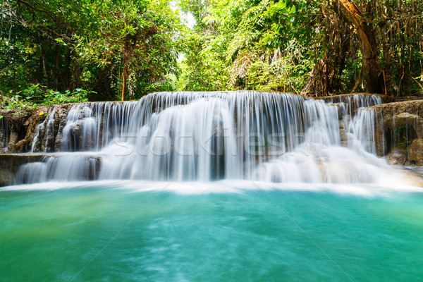 Waterval park westerse Thailand water boom Stockfoto © smuay